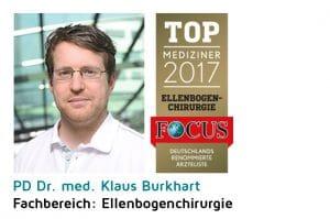 FOCUS PD Dr. Klaus Burkhart