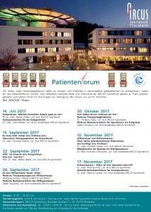 Patientenforum Plakat 2HJ 2017