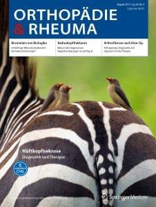 Zeitschrift Orthopädie & Rheuma Radiuskopffrakturen