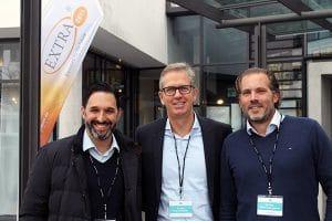 Bild v.l.n.r.: Dr. Burak Yildirim, Dr. Andree Ellermann (Ärztlicher Direktor der ARCUS Sportklinik Pforzheim) und Dr. Philip Catalá-Lehnen (Ärztlicher Direktor LANSMedicum Hamburg)