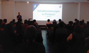 Herr Nietschke über mögliche Therapieformen der Physiotherapie nach Schulterverletzungen im Profisport