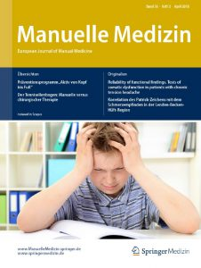 Der Tennisellenbogen — Stellenwert der manuellen und chirurgischen Therapie, Manuelle Medizin 02/2018