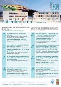 Terminübersicht 2. Halbjahr - ARCUS Patientenforum