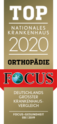 Focus Award TOP 2020 - Orthopädie