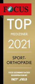Top Mediziner 2021 - Sport Orthopädie