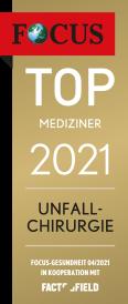 FOCUS Top Mediziner 2021 Unfallchirurgie
