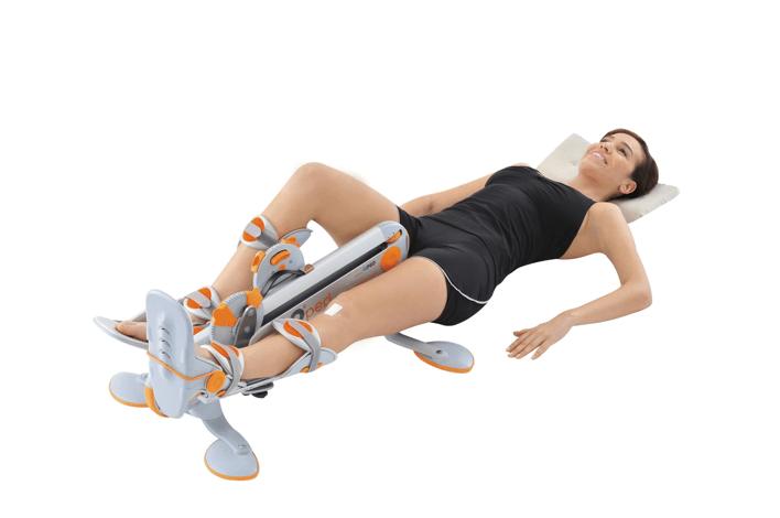 Beispiel einer aktiven Bewegungsschiene (CAMOped, Firma Oped)